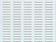 Clicca per ingrandire Lamiera in alluminio   preforata 250x500