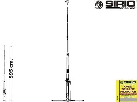 Antenna CB fissa   Sirio GPE 5 8