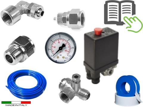 Kit di montaggio impianto   aria fisso per Esprit