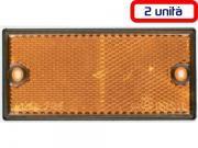 Clicca per ingrandire Catarifrangenti arancio   laterali