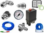 Clicca per ingrandire Kit di montaggio impianto   aria Compressore DWK THD