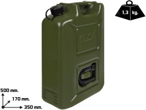 Tanica carburante polietilene   da 20 Lt