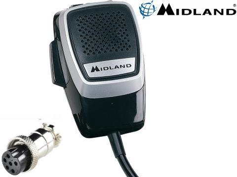 Microfono per CB   Connettore a 6 pin